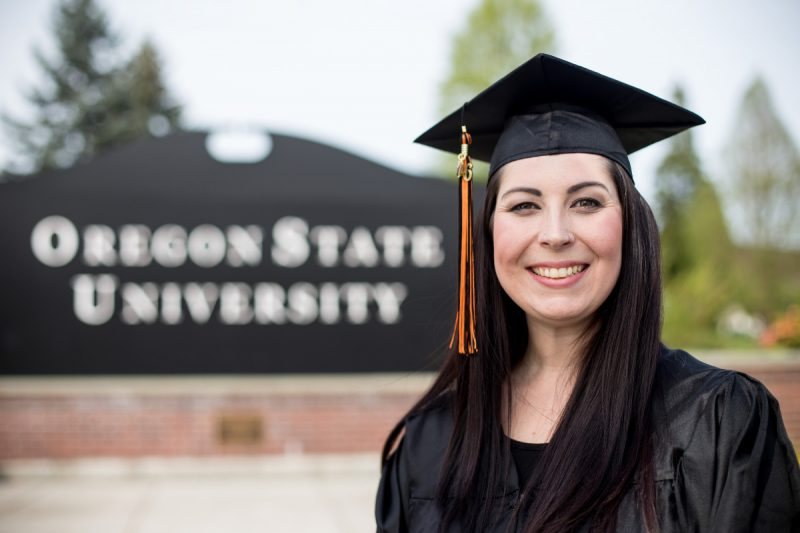 College Graduates at Oregon State University