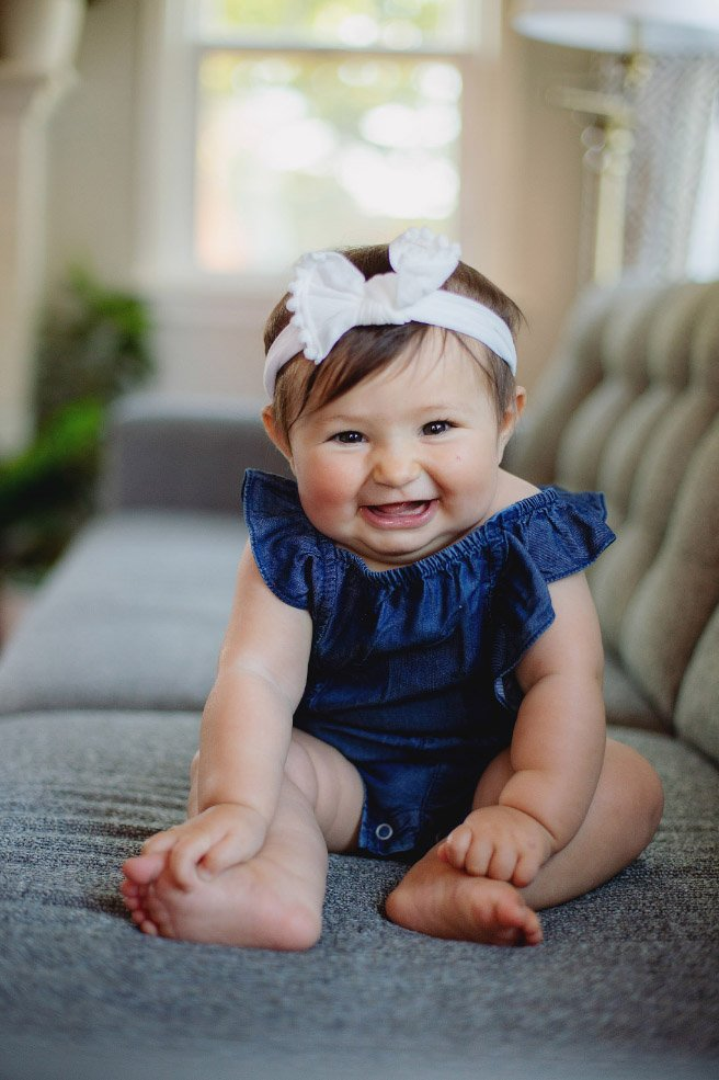 Baby's First Year in Photos - 6 month photo session