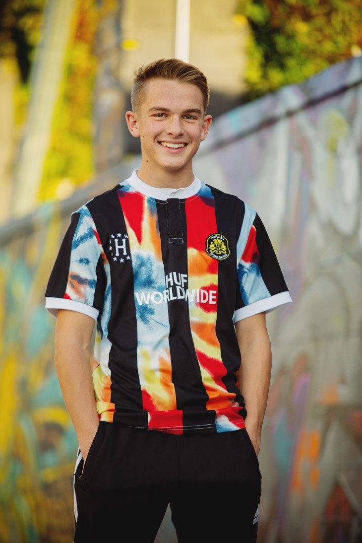 Senior Picture Session - colorful