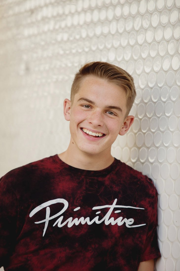 Senior Picture Session - Smiling Portrait