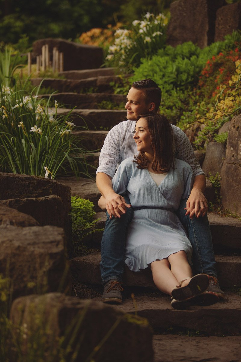 Photo Session at Crystal Springs Rhododendron Garden in Portland, Oregon