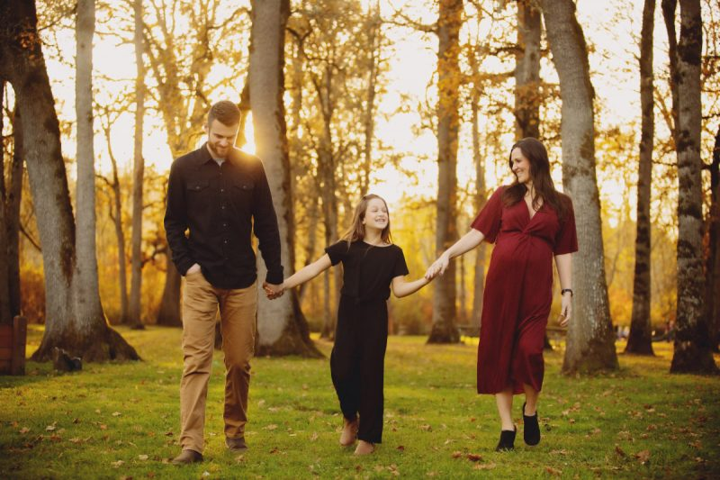 Photography session in Milwaukie, Oregon, North Clackamas Park