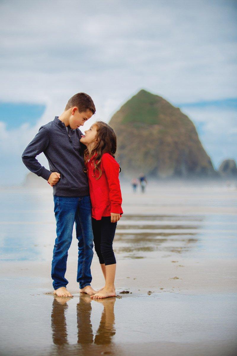 Photo Session at Oregon Coast Beaches
